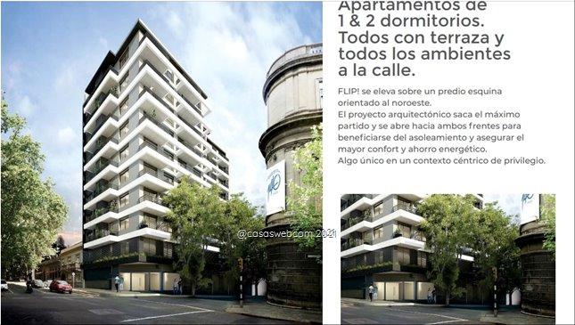 Cordón Sur Proyecto Apto 2 dormitorios desde U$D 115.400